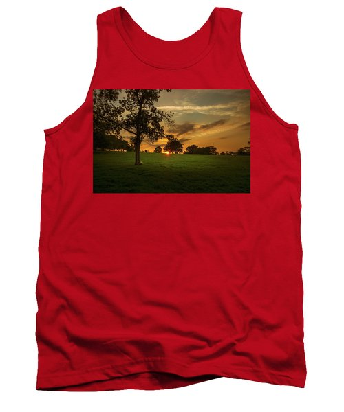 Evening Sun Over Brockwell Park Tank Top by Lenny Carter