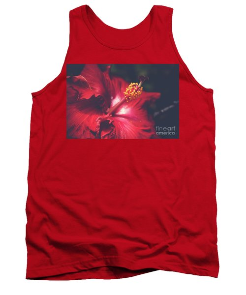 Tank Top featuring the photograph Evening Whispers by Sharon Mau