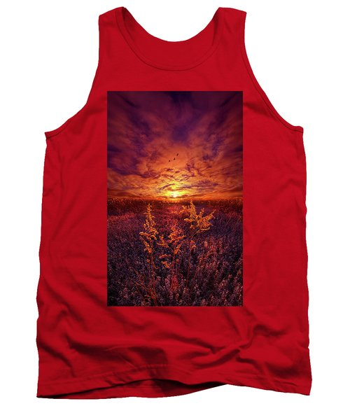 Tank Top featuring the photograph Every Sound Returns To Silence by Phil Koch