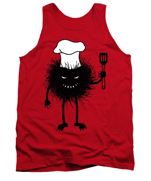 Evil Bug Chef Loves To Cook Tank Top