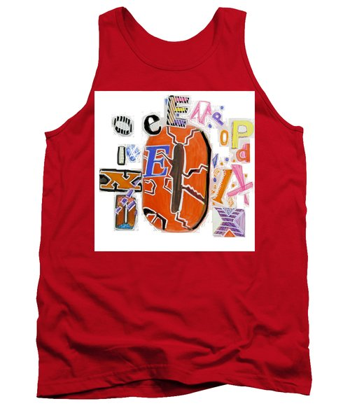 Explode - Tee Shirt Art Tank Top
