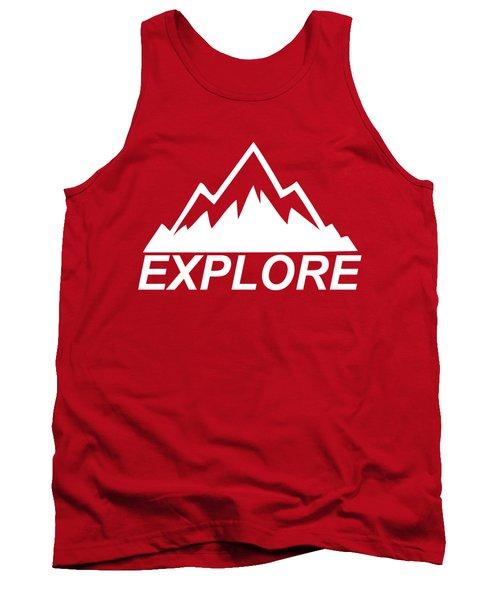 Explore Mountain Tank Top