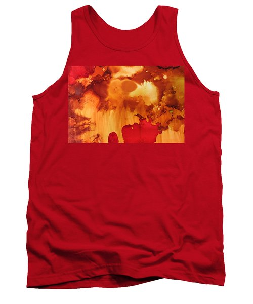 Explosion From The Galaxy Tank Top
