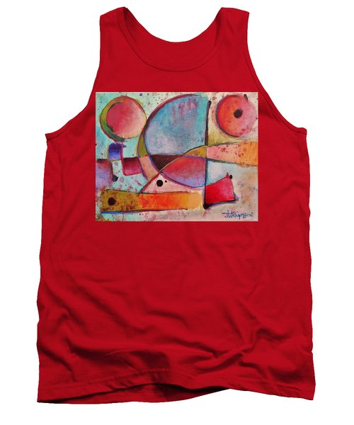 Expression # 13 Tank Top by Jason Williamson