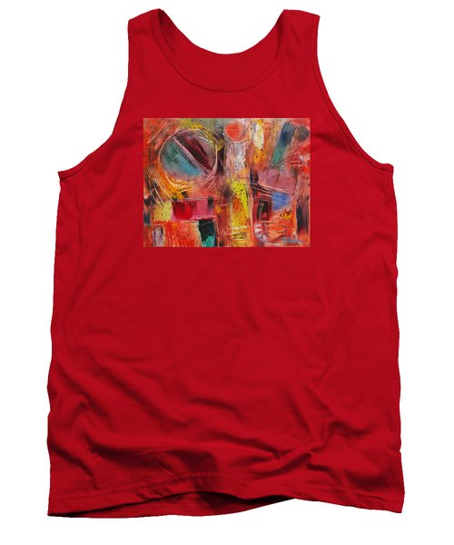 Expression # 8 Tank Top by Jason Williamson