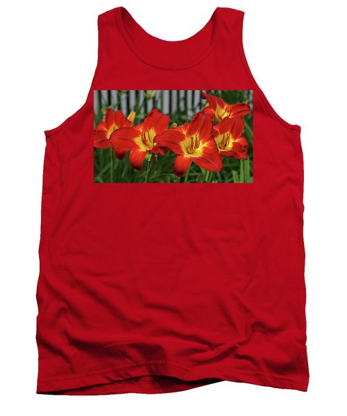 Tank Top featuring the photograph Eye Catching by Sandy Keeton