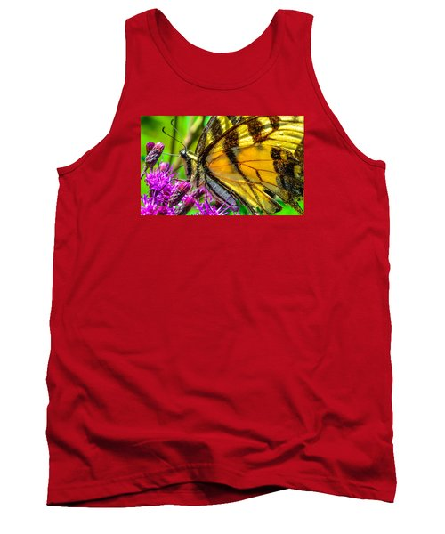 Tank Top featuring the photograph Eye Of The Tiger 3 by Brian Stevens