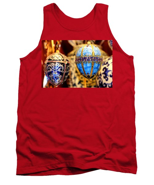 Faberge Holiday Eggs Tank Top