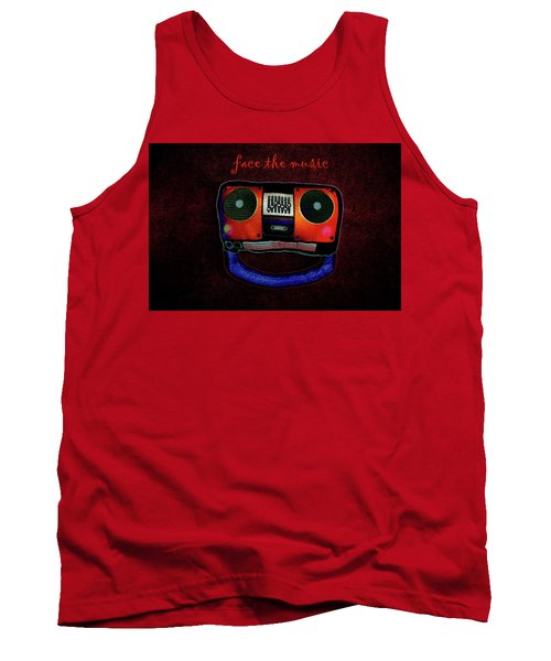 Face The Music Tank Top