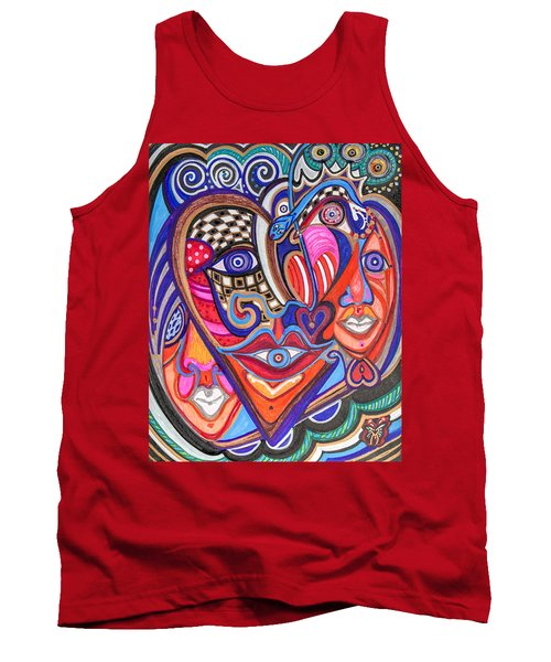 Faces Of Hope Tank Top