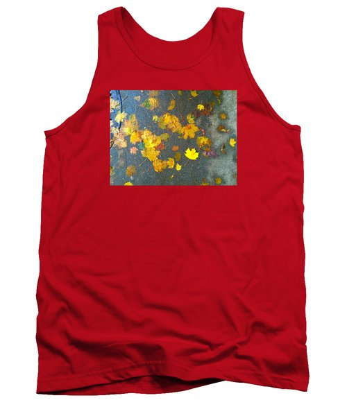Fading Leaves Tank Top by Suzanne Lorenz