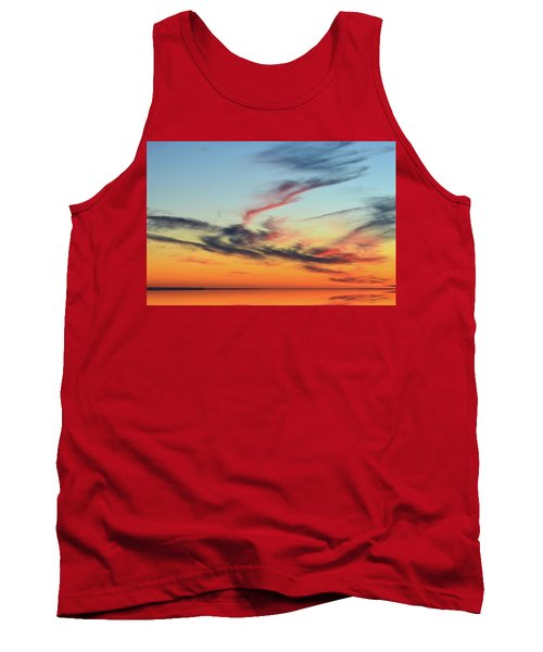 Fading Pink Reflection  Tank Top