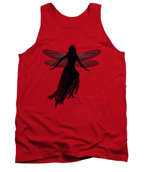 Fairy Silhouette Tank Top by Tom Conway