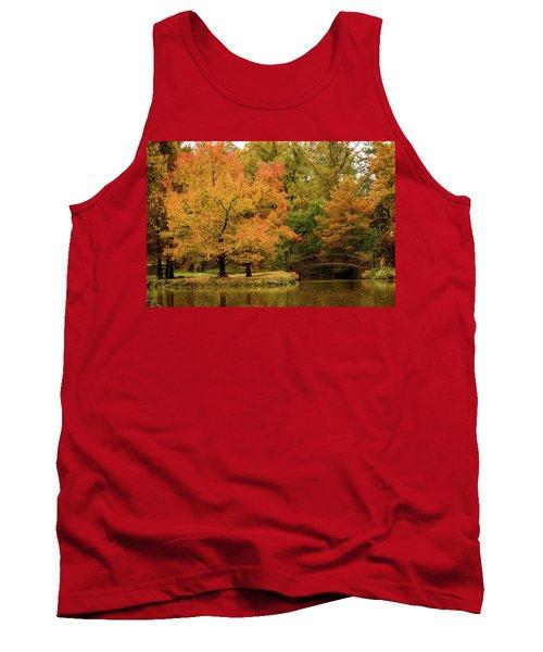 Fall At The Arboretum Tank Top
