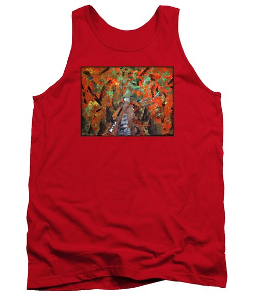 Fall By Colleen Ranney Tank Top