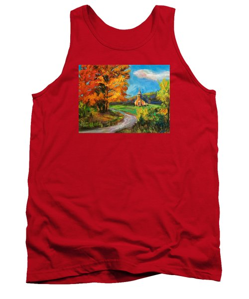 Fall Church Tank Top