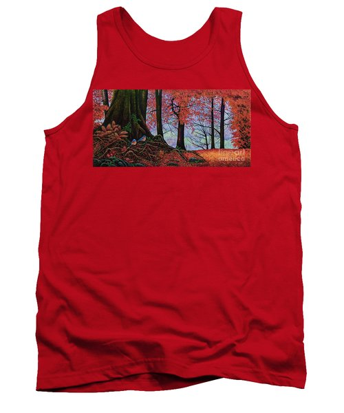 Fall Colors II Tank Top by Michael Frank