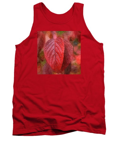 Fall Crimson Tank Top