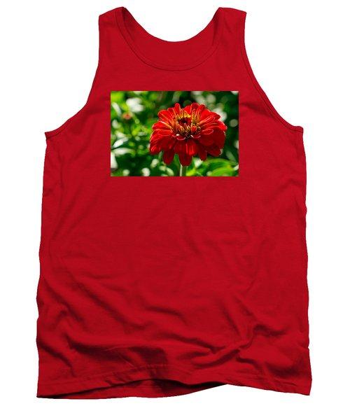 Fall Flower Tank Top by Derek Dean