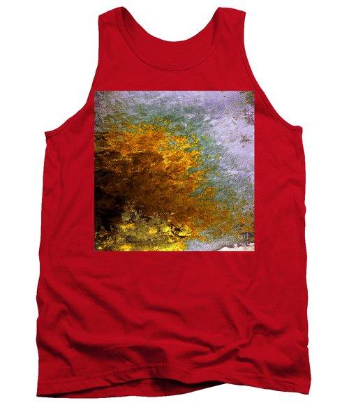 Tank Top featuring the digital art Fall Foliage by John Krakora
