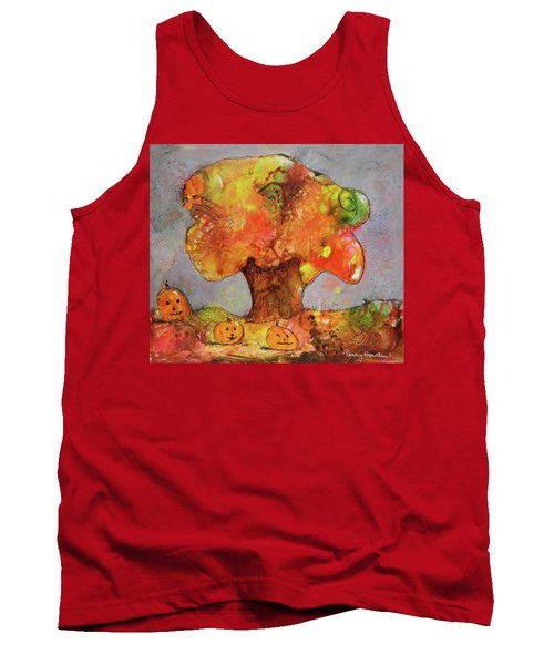 Fall Fun Tank Top by Terry Honstead