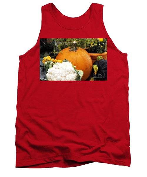 Tank Top featuring the photograph Fall Harvest by Judyann Matthews