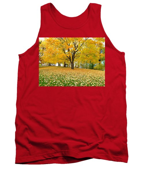 Fall In Kaloya Park 7 Tank Top