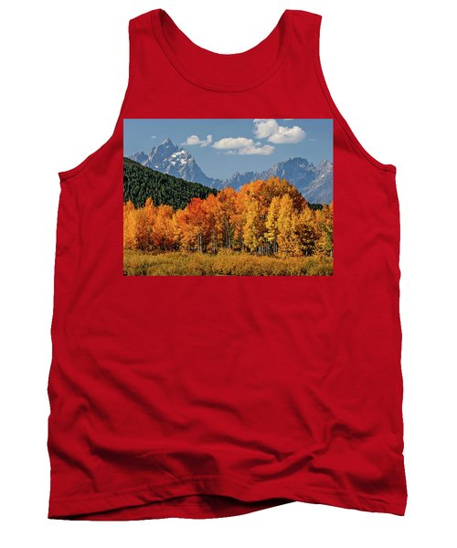 Fall In The Tetons Tank Top