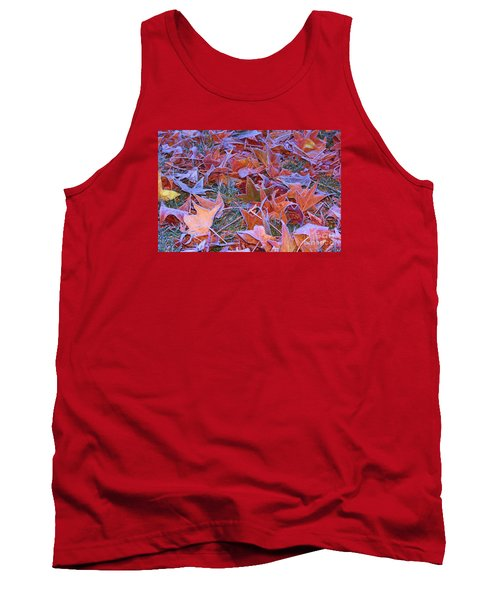 Fall Into Winter Tank Top by Patrick Witz