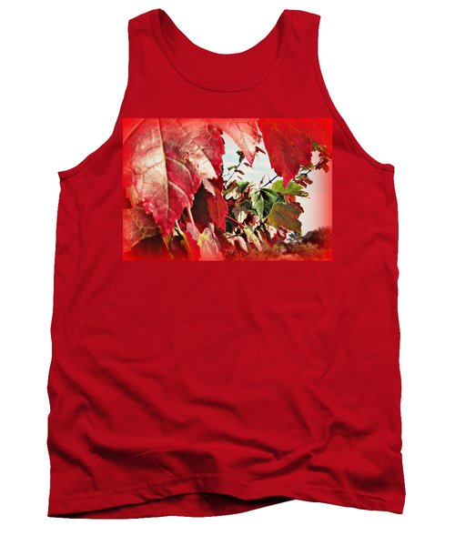 Fall Leaves #10 Tank Top