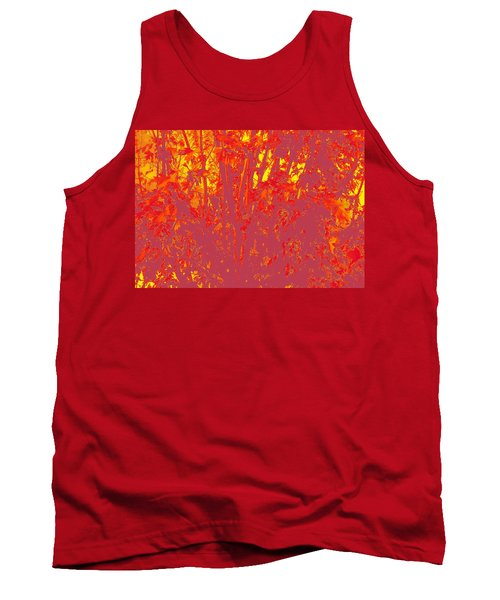 Fall Leaves #4 Tank Top