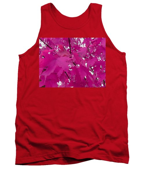 Fall Leaves #5 Tank Top