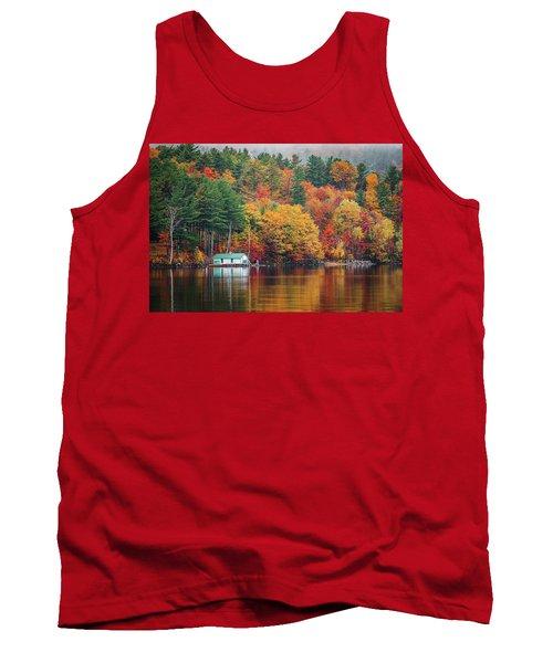 Fall On Lake Winnipesaukee Tank Top