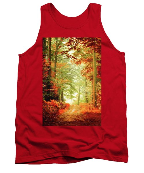 Fall Painting Tank Top