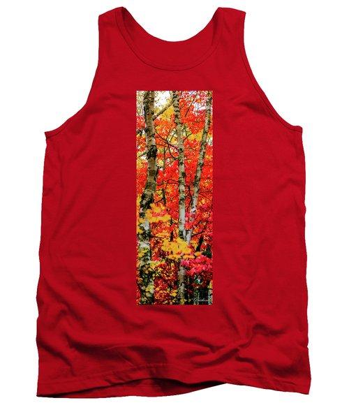 Fall Reds Tank Top