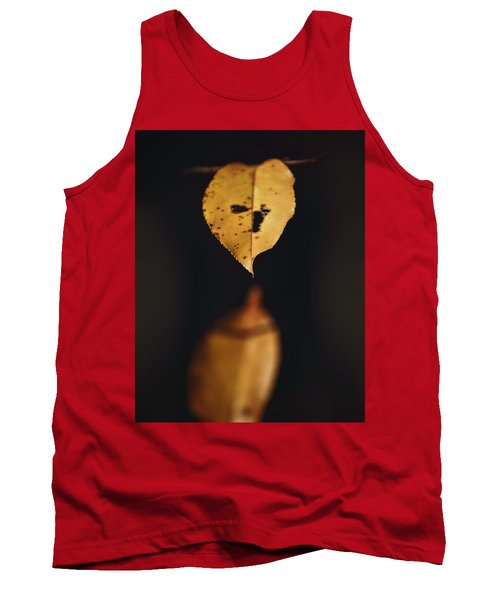 Tank Top featuring the photograph Fall Reflections by Eduard Moldoveanu