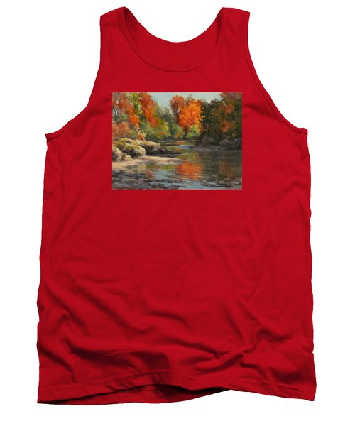 Fall Reflections Tank Top by Karen Ilari