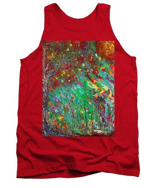 Fall Revival Tank Top by Jacqueline Athmann