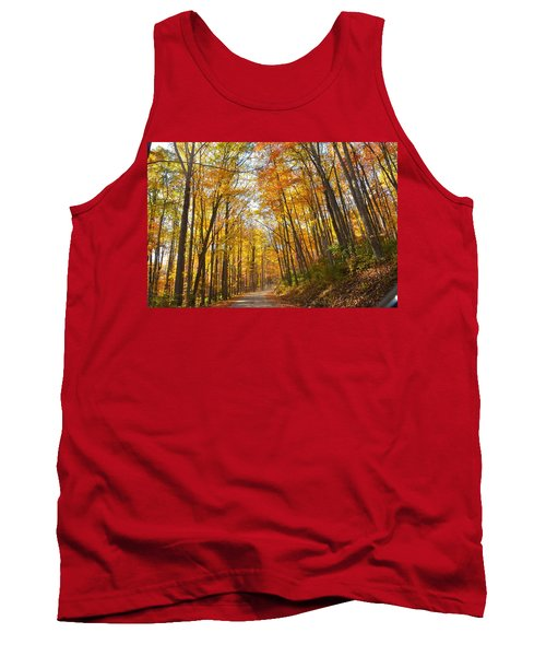 Fall Road Tank Top