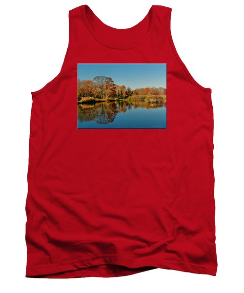 Fall Scene Tank Top by Mikki Cucuzzo