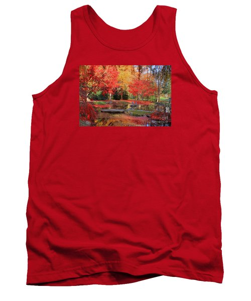 Tank Top featuring the photograph Fall Spendor by Geraldine DeBoer