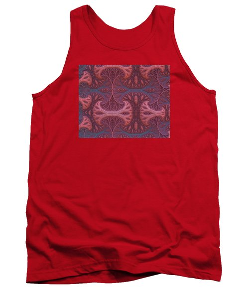 Tank Top featuring the digital art Fantasy Forest by Lyle Hatch