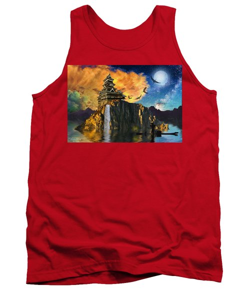 Far Away To The East Tank Top