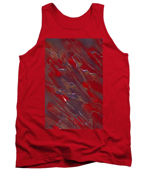 Faux Finish Tank Top