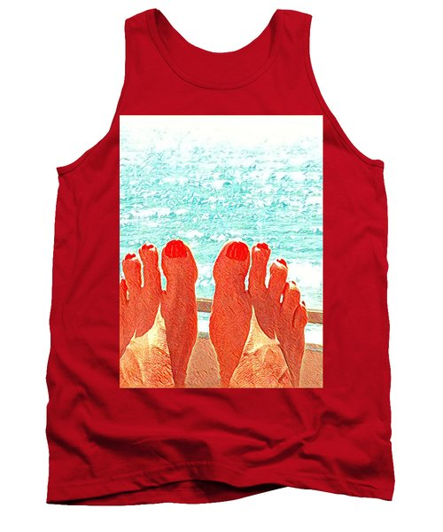 Feets Don't Fail Me Now Tank Top