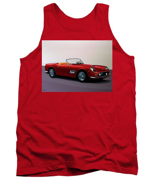 Ferrari 250 Gt California Spyder 1957 Painting Tank Top