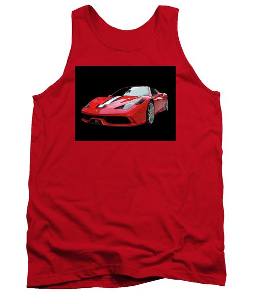 Ferrari 458 Speciale Aperta Tank Top