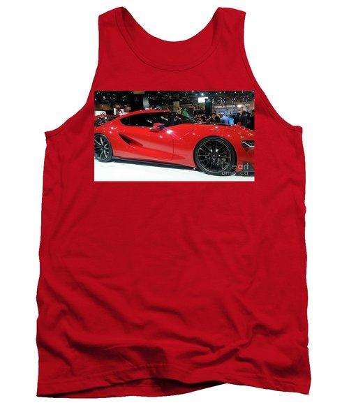 Red Ferrari Tank Top