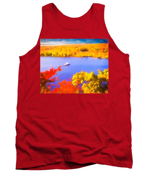 Ferry Crossing Connecticut River. Tank Top