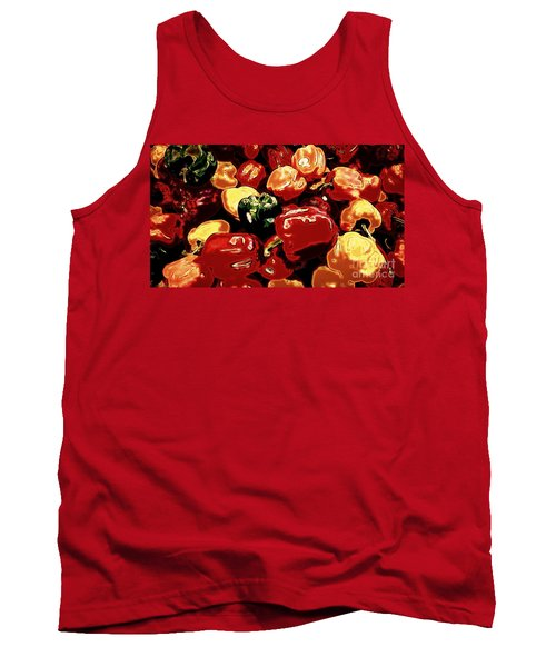 Festival Of Peppers Tank Top